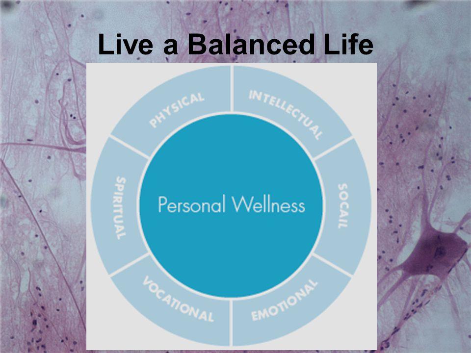 Live a Balanced Life