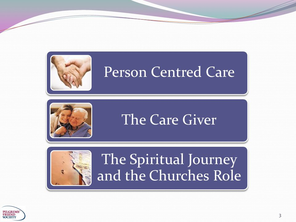 3 Person Centred Care The Care Giver The Spiritual Journey and the Churches Role