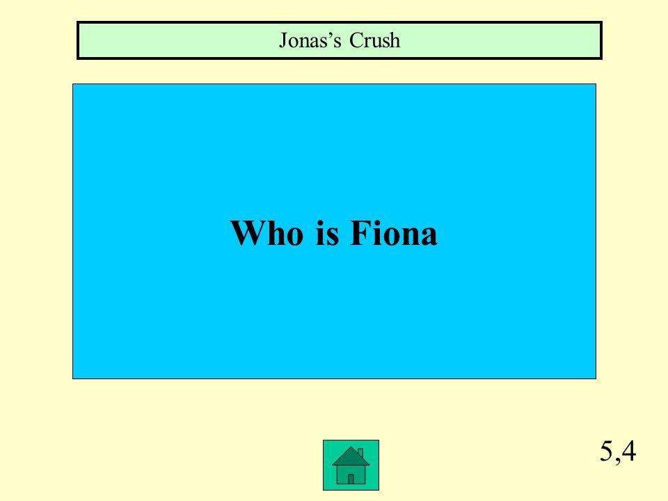 5,3 Describe Jonas Father Nurturer, mean person