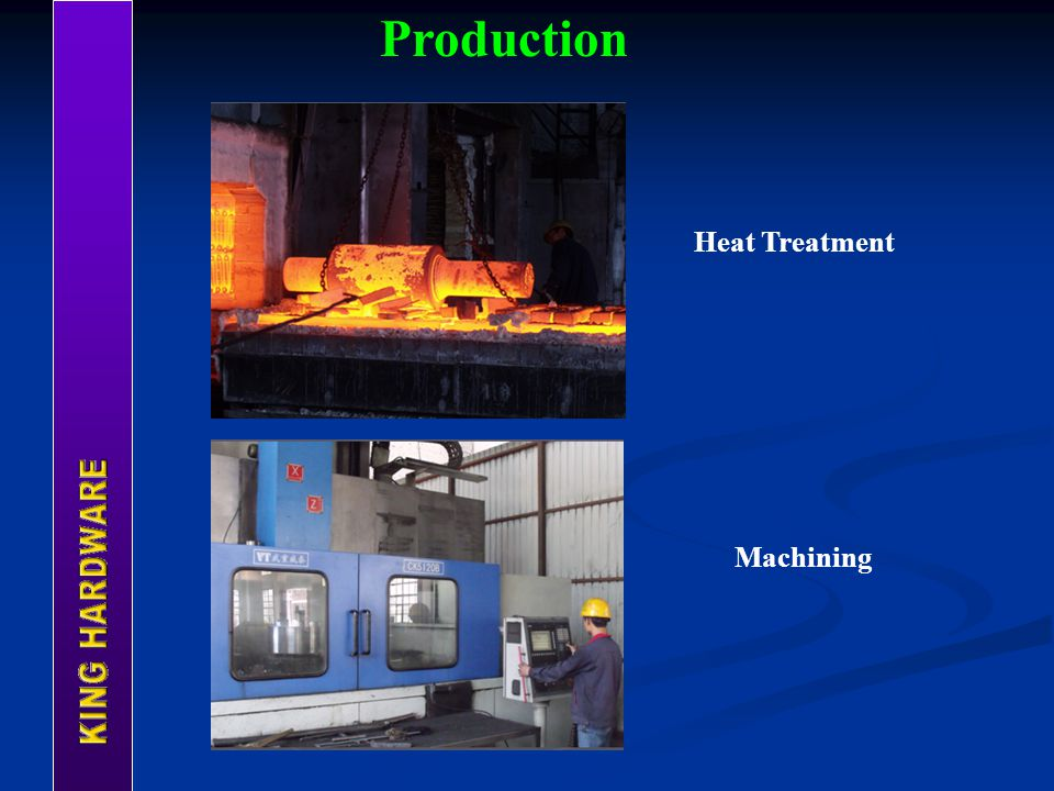 Production Heat Treatment Machining