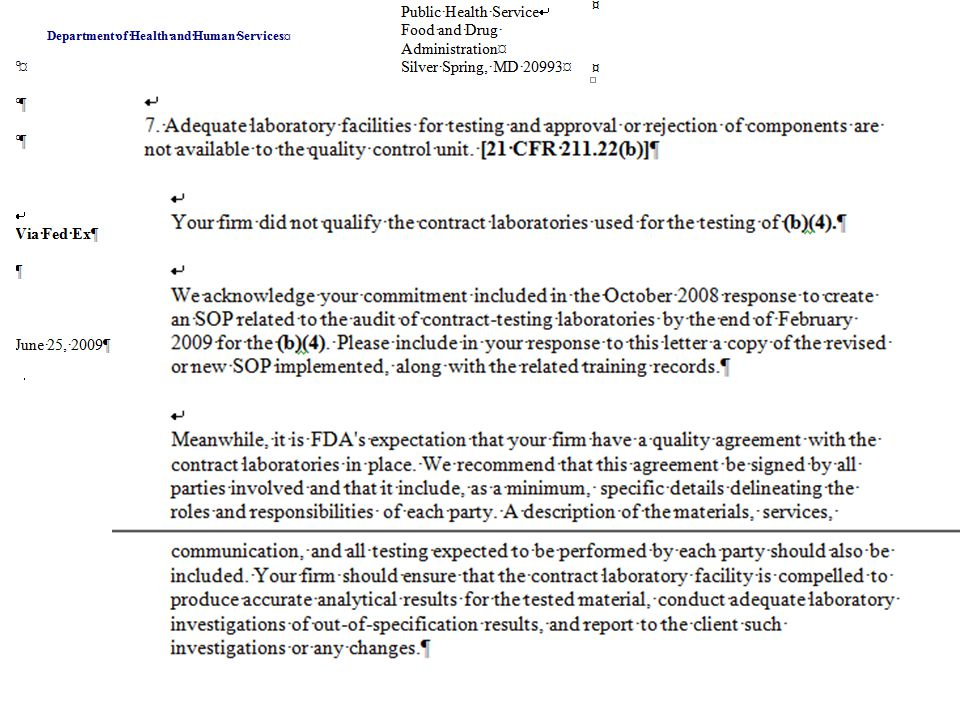 Quality Issues - Complaints Who is responsible for investigating complaints.