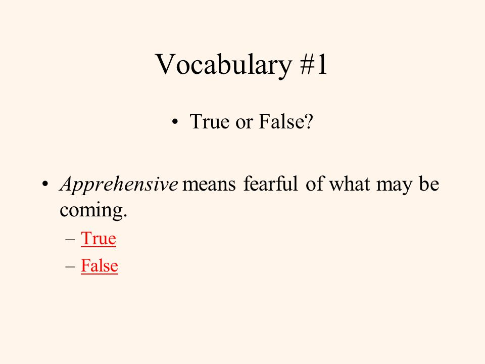 The Giver Vocabulary Please answer each question in this category.