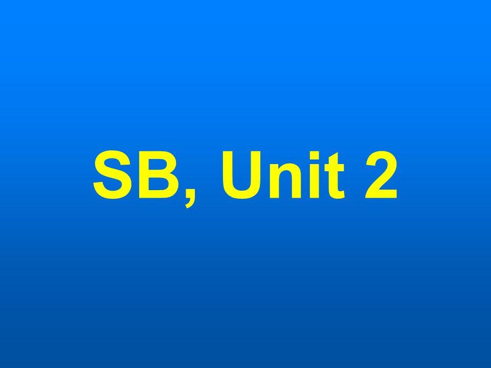 SB, Unit 2