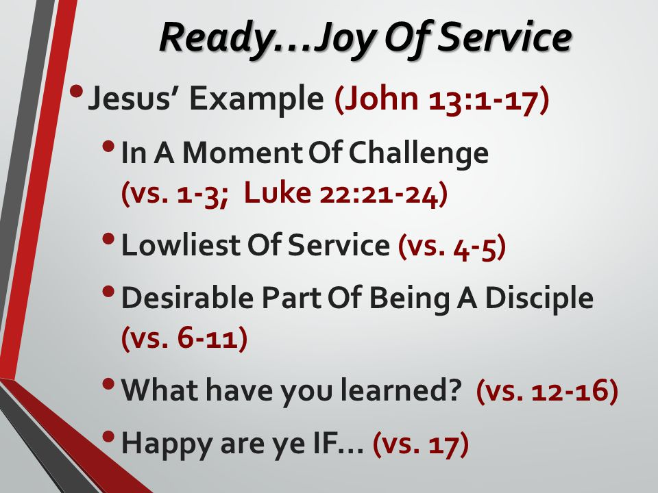 Why Do We Love To Serve.
