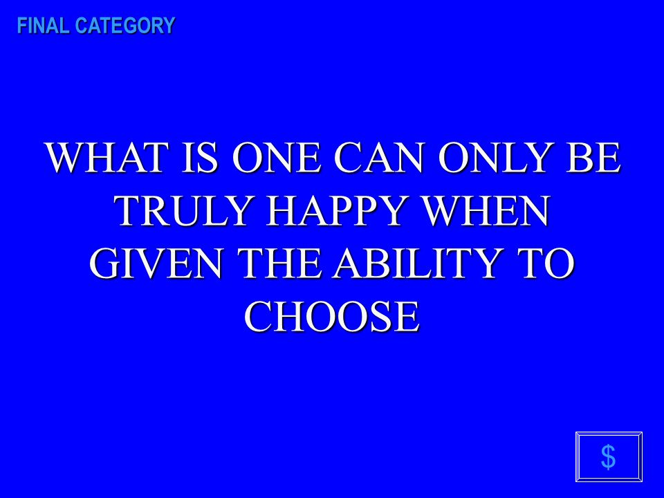 FINAL CATEGORY $ WHAT IS THE OVERRIDING THEME IN THE GIVER