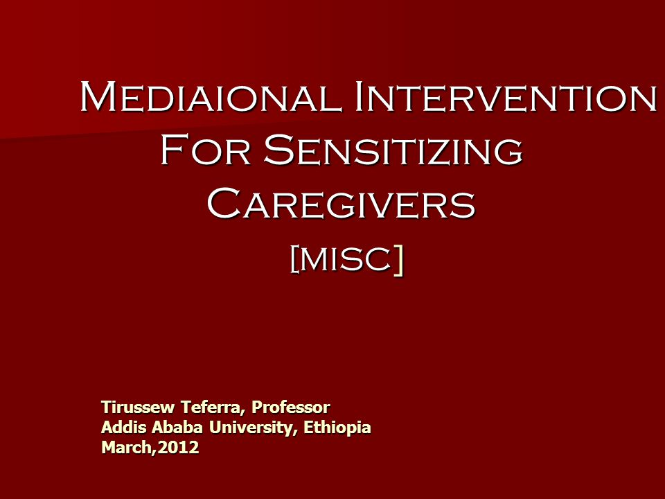 MISC MIC [ More Intelligent Child ] MIC [ More Intelligent Child ] MISC [Process ] Mediational Intervention for Sensitizing Caregivers MISC [Process ] Mediational Intervention for Sensitizing Caregivers MISC [Objective] More Intelligent and Sensitive Child MISC [Objective] More Intelligent and Sensitive Child