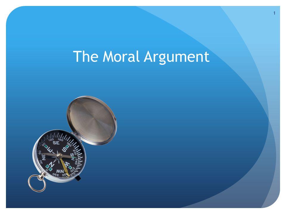 The Moral Argument 1