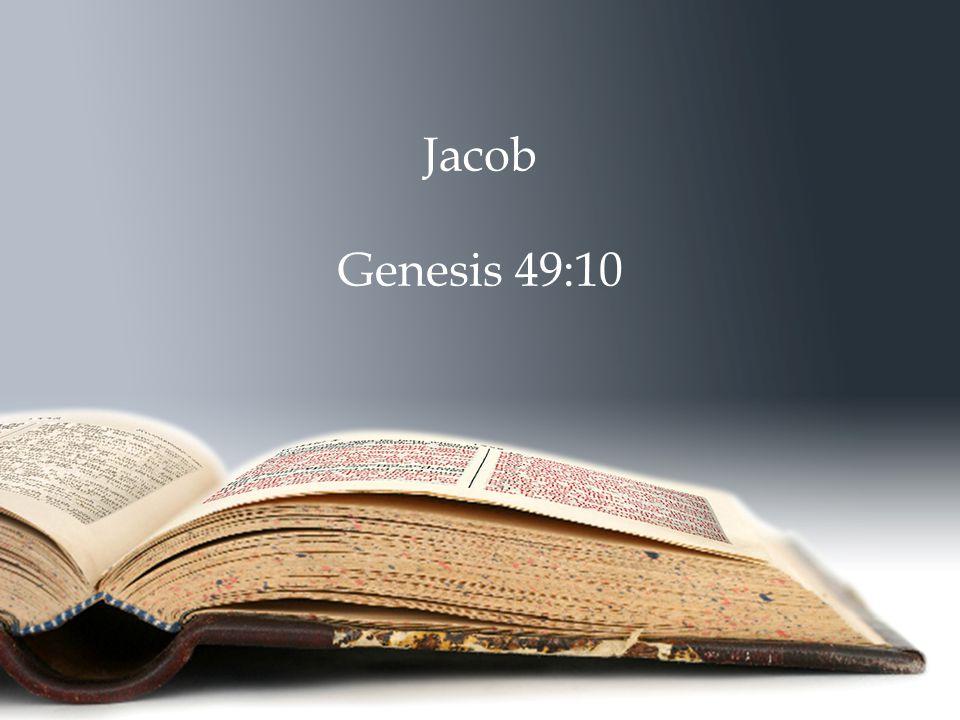 Jacob Genesis 49:10