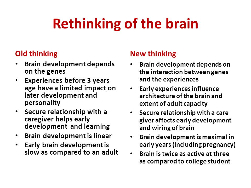 Key messages Lancet 2011 Biological and psychosocial risks affects the developing brain.
