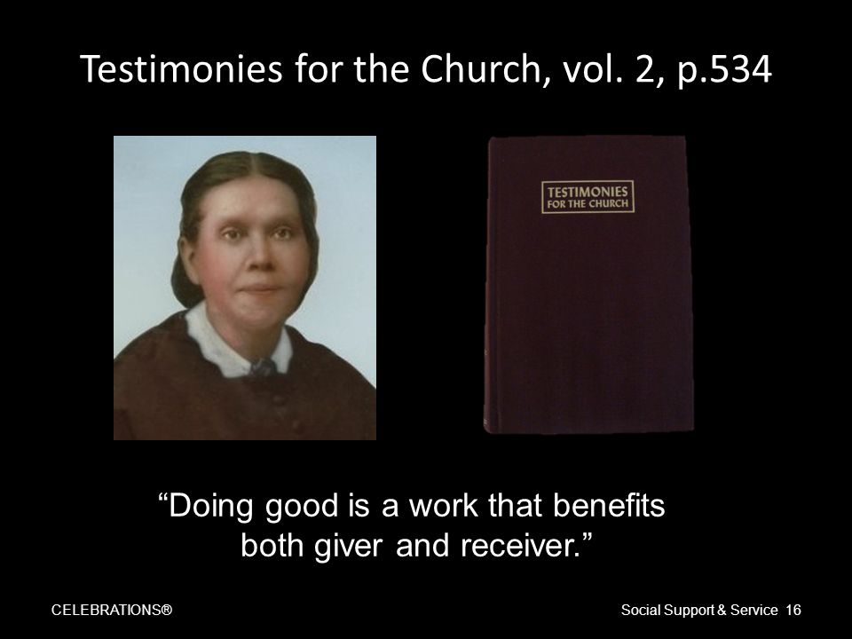Testimonies for the Church, vol.