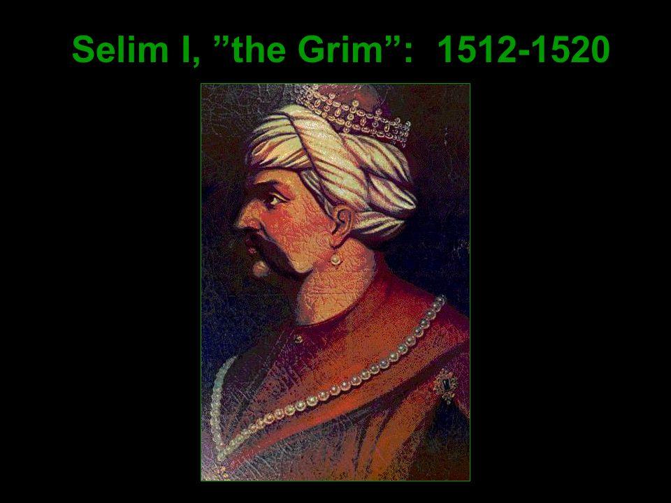 Selim I, the Grim : 1512-1520