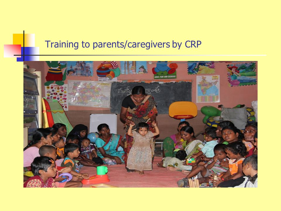 Training to Care givers by Physiotherapist