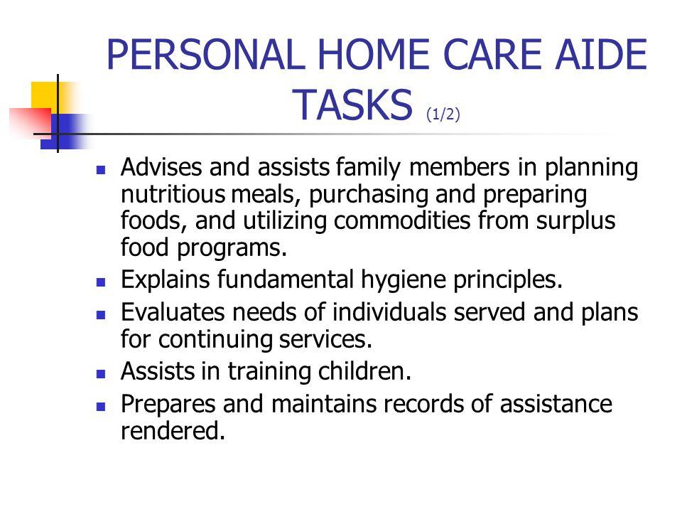 NURSE AIDE As the principal caregiver, provides basic patient care under direction of nursing staff.