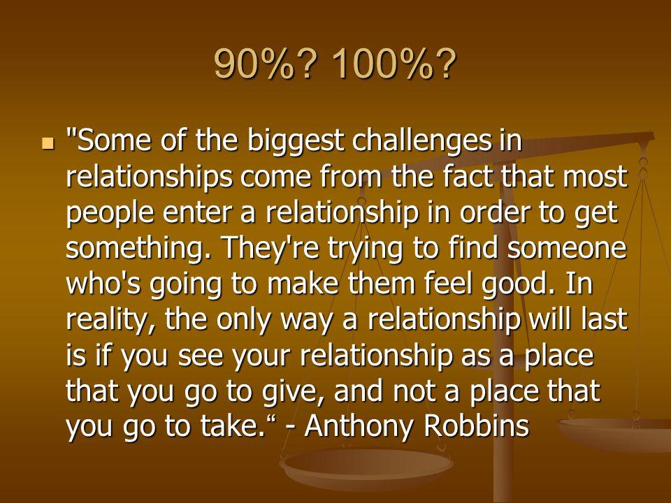 90%. 100%.