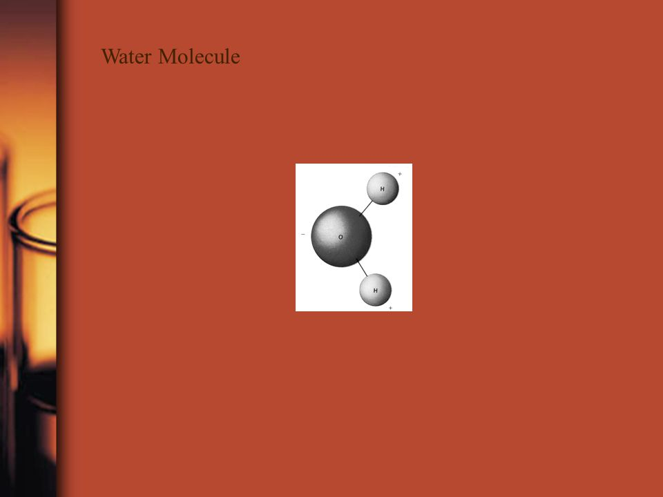 Compound Example Water ( H 2 O ) – each molecule is made of two HYDROGEN atoms and one OXYGEN atom