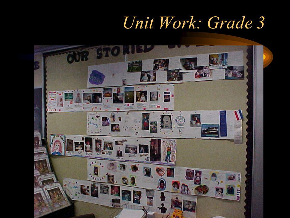 Unit Work: Grade 3