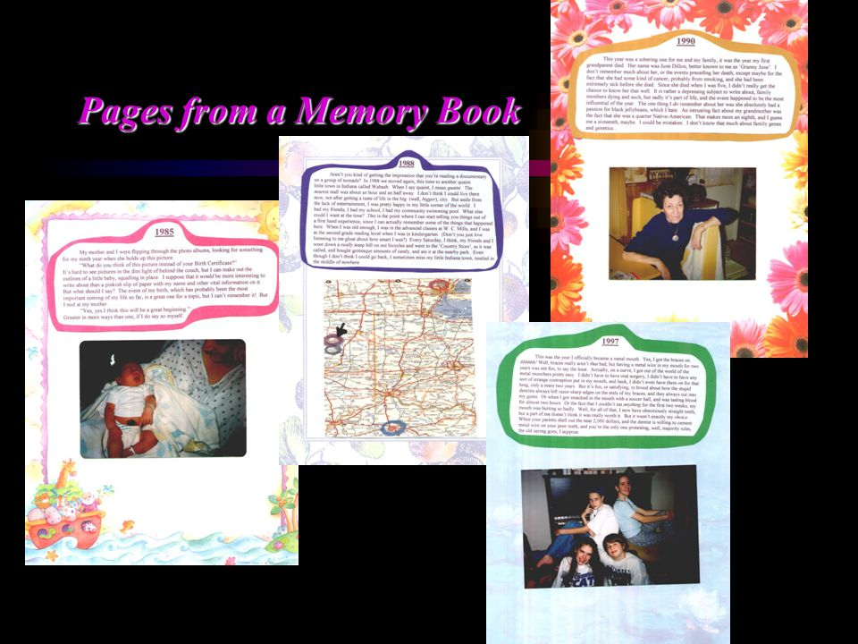 Pages from a Memory Book