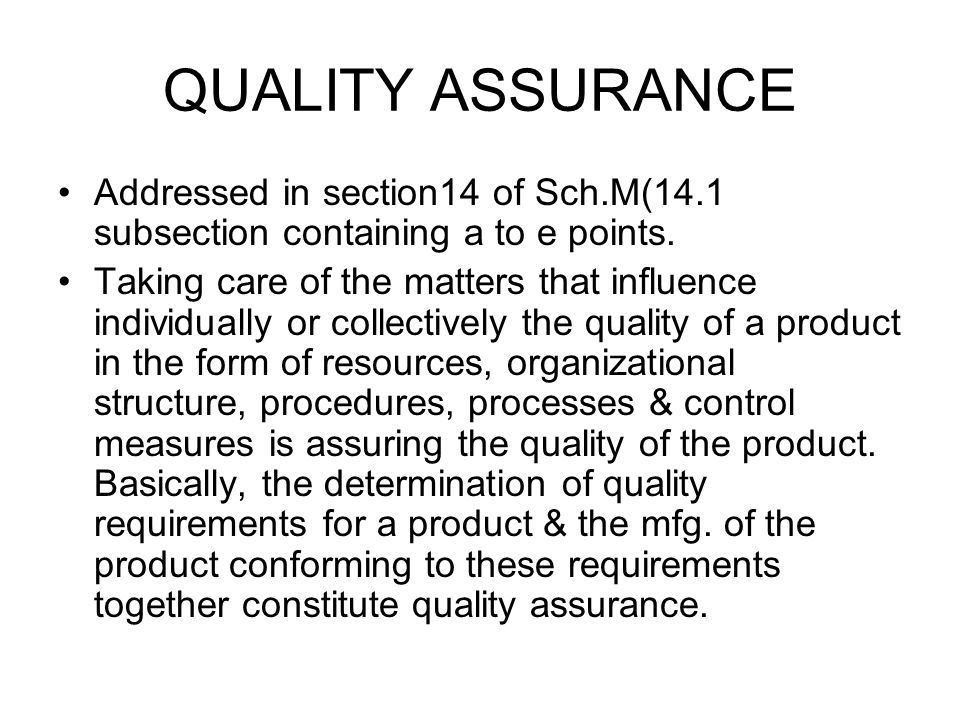 QUALITY CONTROL SYSTEM Principal Duties To prepare detailed sops, STPs, & instructions in writing for carrying out each test & analysis.(16.4) To release or reject each batch of raw materials.(16.6) To release or reject semi finished products if necessary(16.6) To release or reject packaging & labeling materials & the final containers in which drugs are to be packed.
