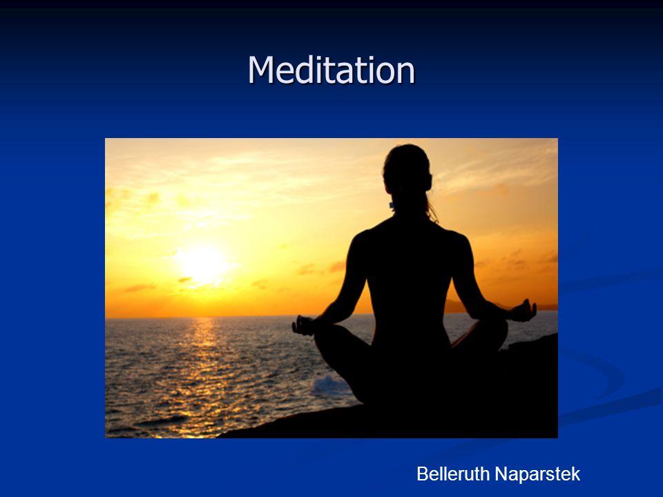 Meditation Belleruth Naparstek