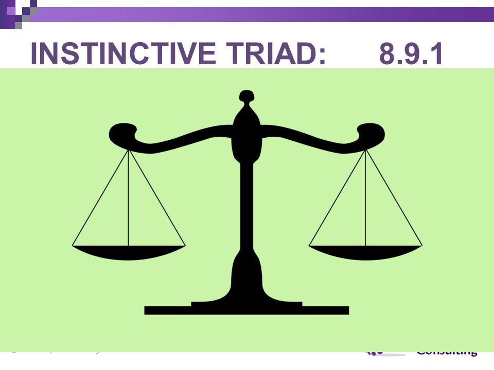 INSTINCTIVE TRIAD: 8.9.1