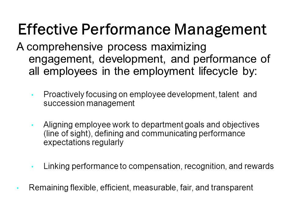 Performance Characteristics A Reference Guide The performance evaluation form is flexible.