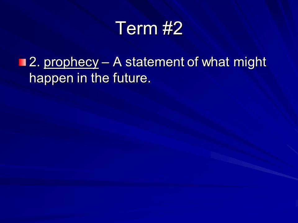 Term #18 18.