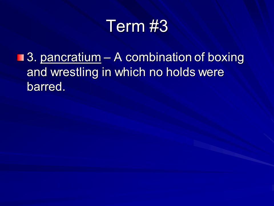 Term #4 4.