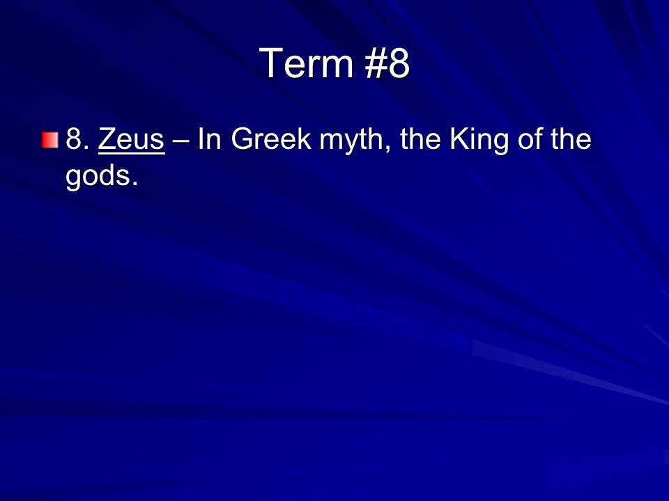 Term #4 4.Socrates – From 469 B.C.