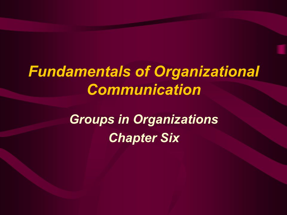 Team-Based Organizations More innovative, able to share information, involved, and task- skilled than more traditional organizational structures By 2010 over 75% of work force Four aspects of organizational life: goals, roles, relationships, and processes