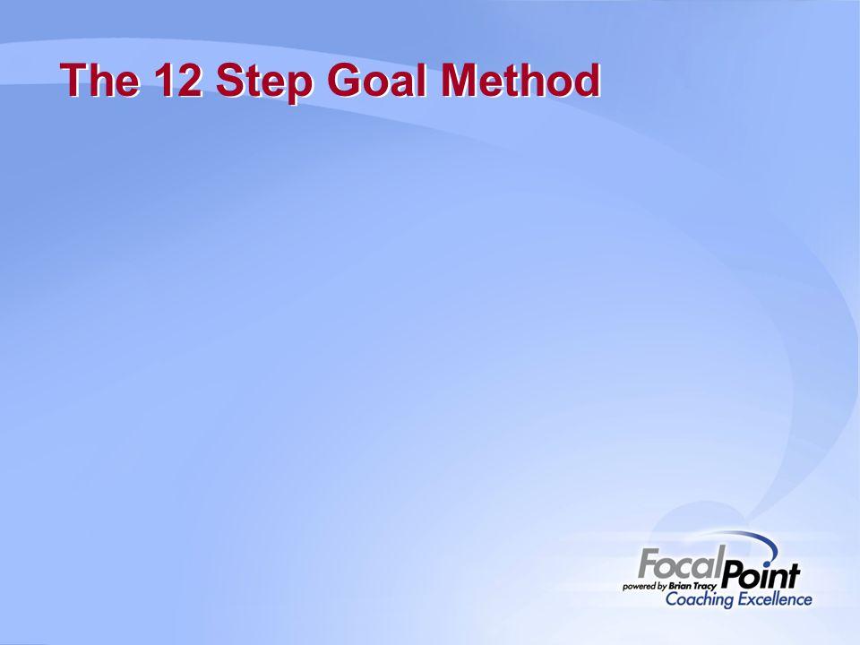 The 12 Step Goal Method