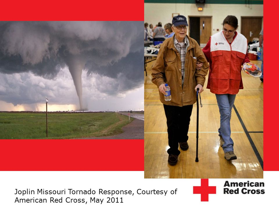Joplin Missouri Tornado Response, Courtesy of American Red Cross, May 2011