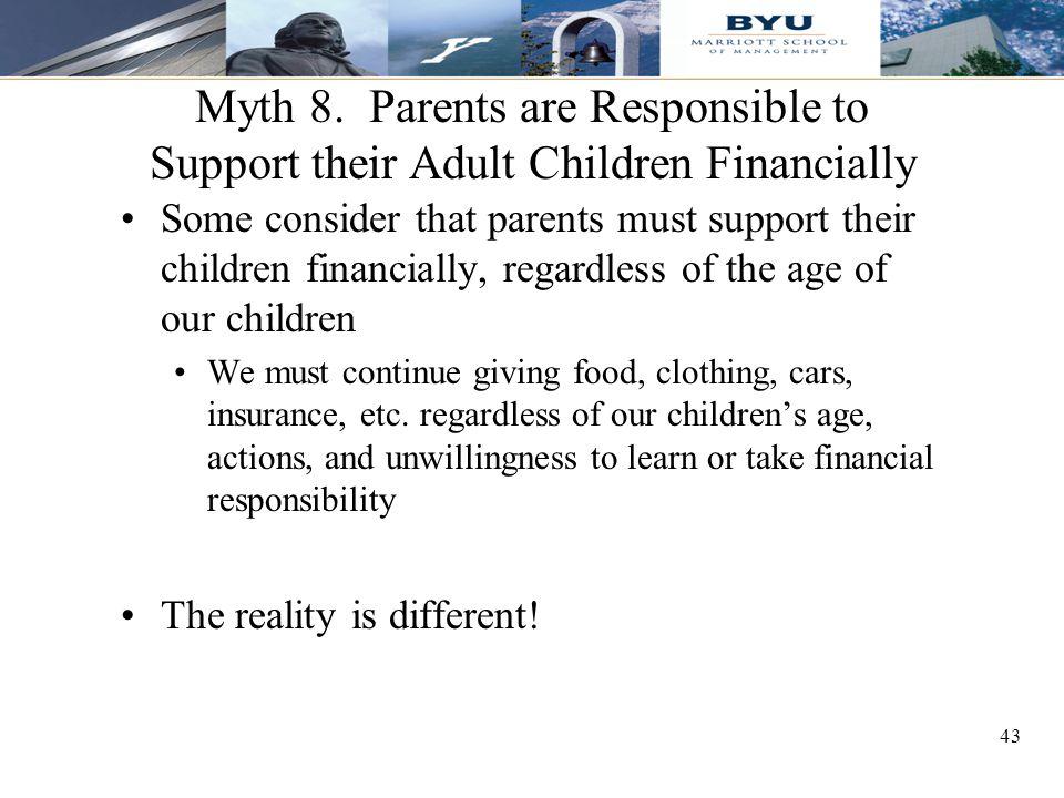 43 Myth 8.