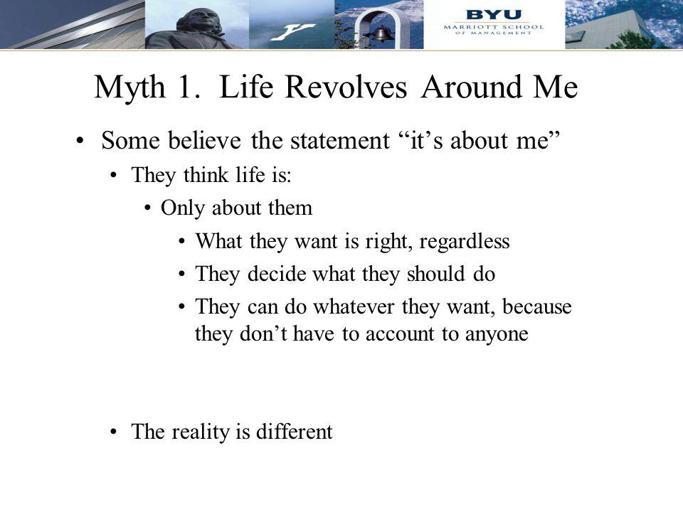 6 Myth 1.