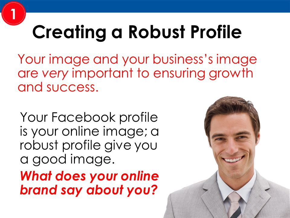 Your image and your business's image are very important to ensuring growth and success.