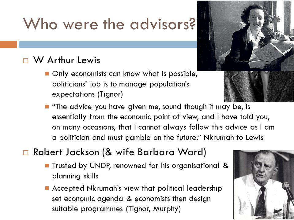 Who were the advisors.