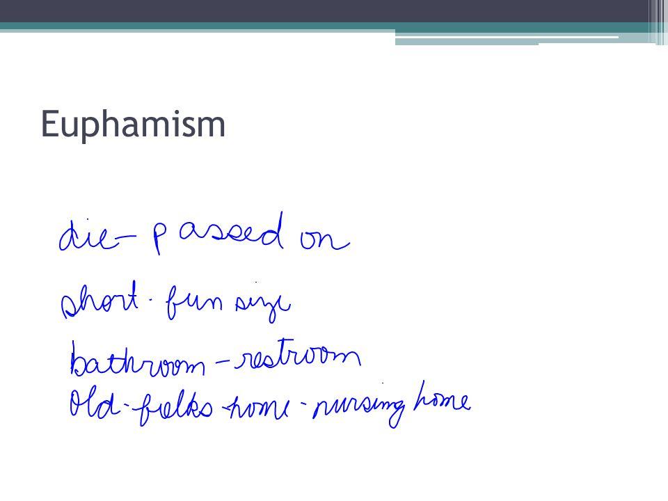 Euphamism