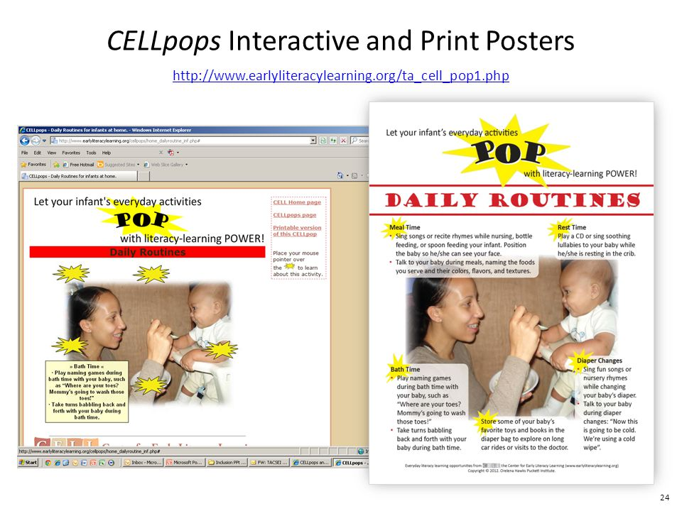 24 CELLpops Interactive and Print Posters http://www.earlyliteracylearning.org/ta_cell_pop1.php