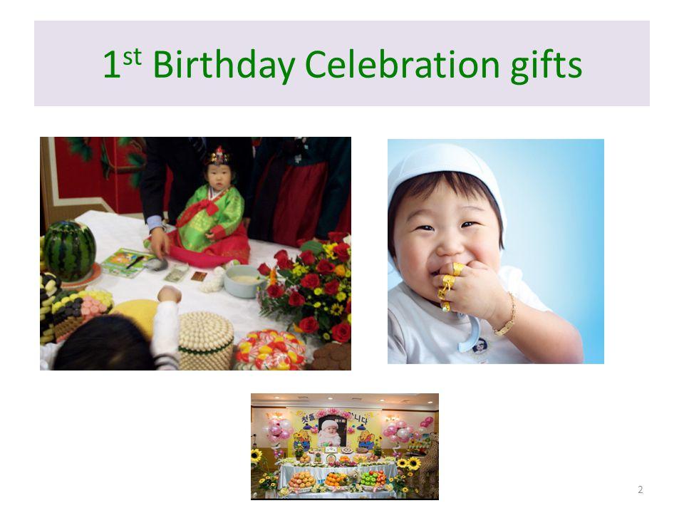 1 st Birthday Celebration gifts 2