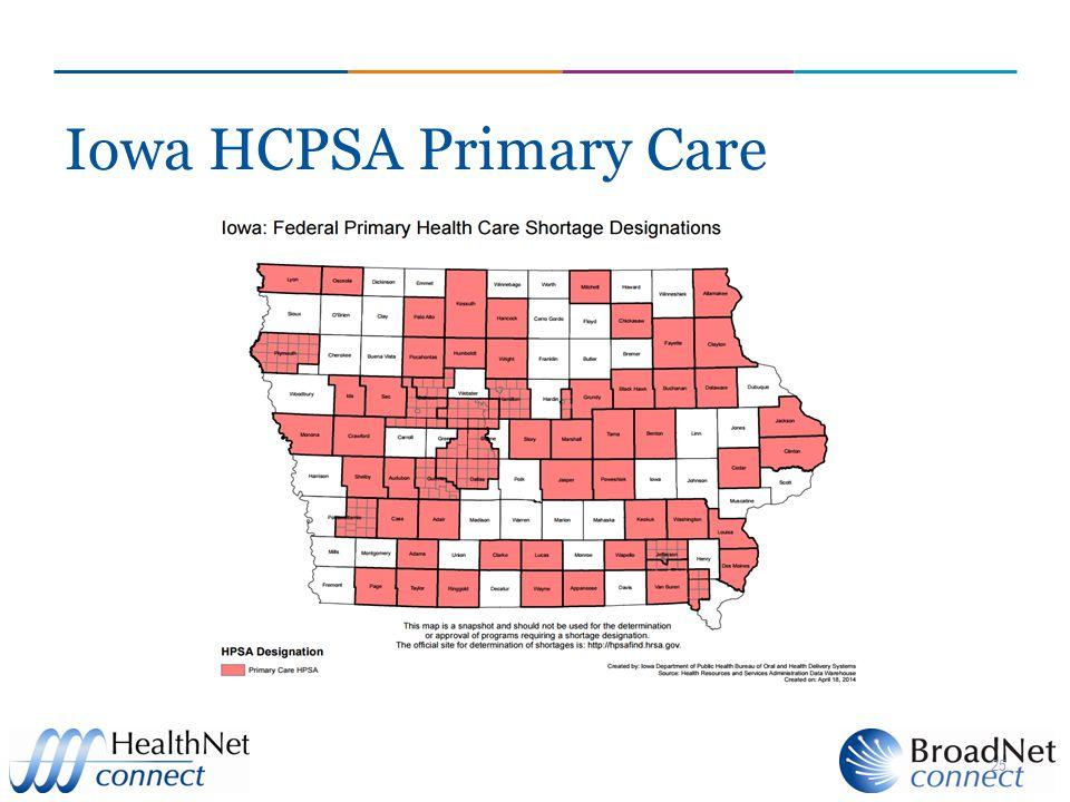 Iowa HCPSA Primary Care 25