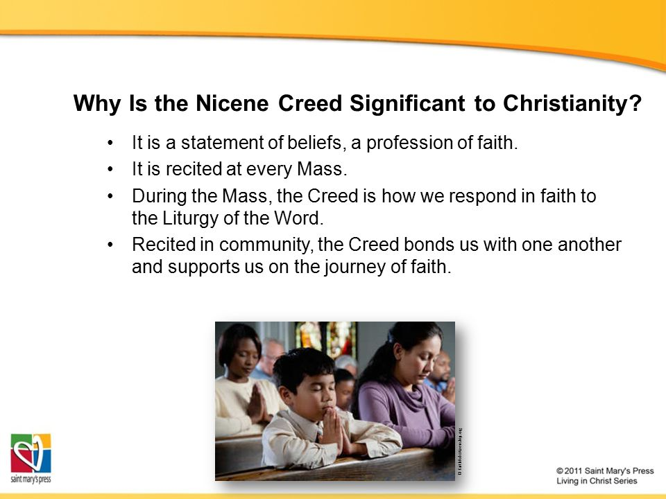 Why Is the Nicene Creed Significant to Christianity.