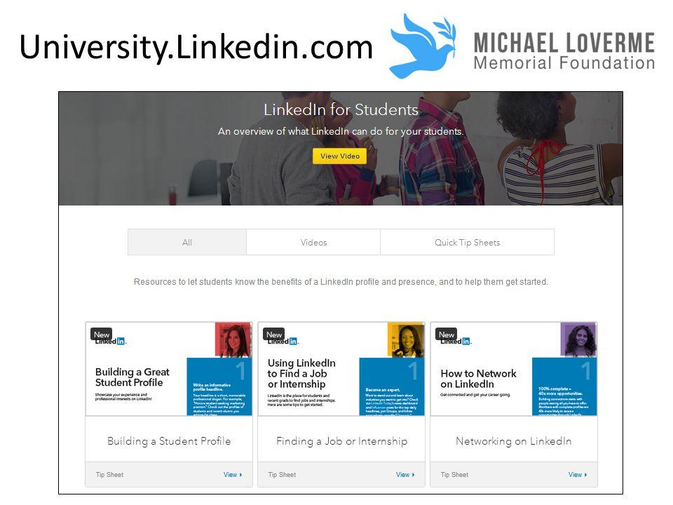 University.Linkedin.com