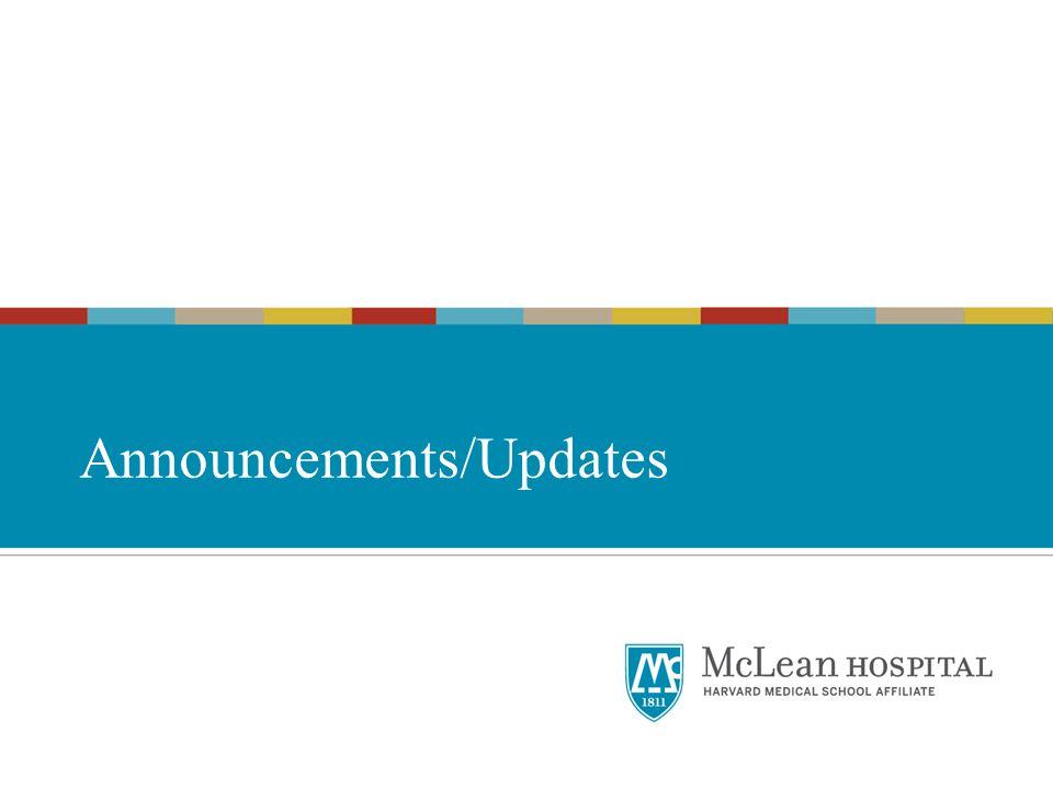 Announcements/Updates