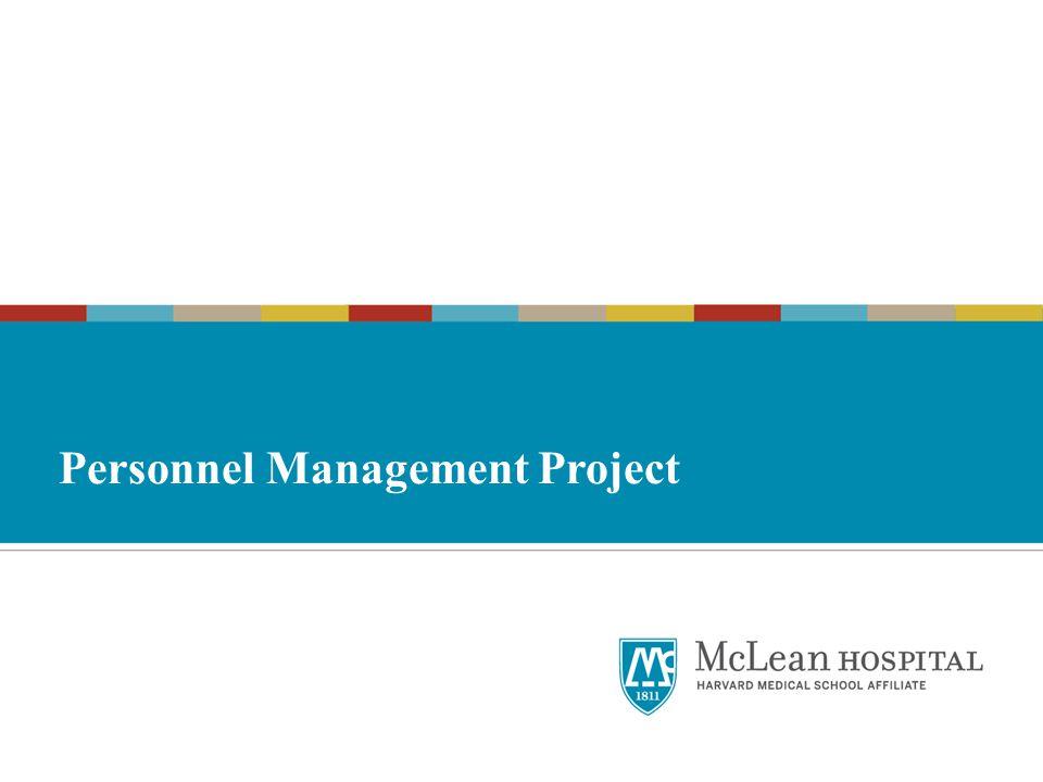Personnel Management Project