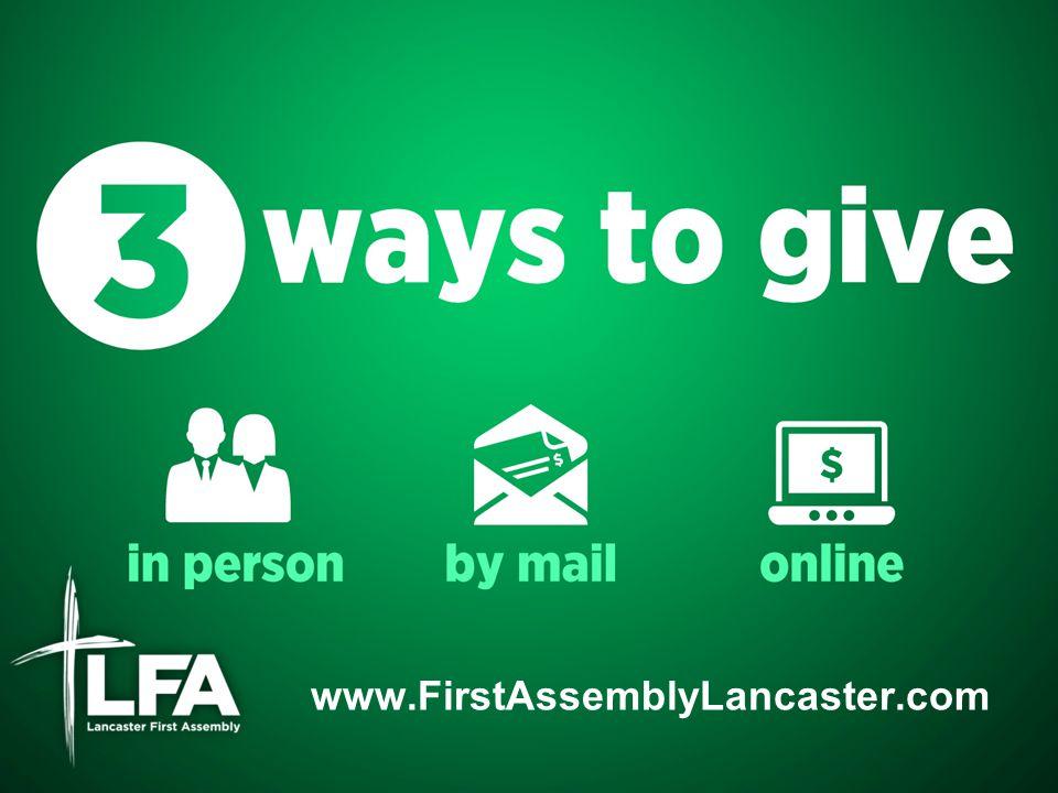 www.FirstAssemblyLancaster.com
