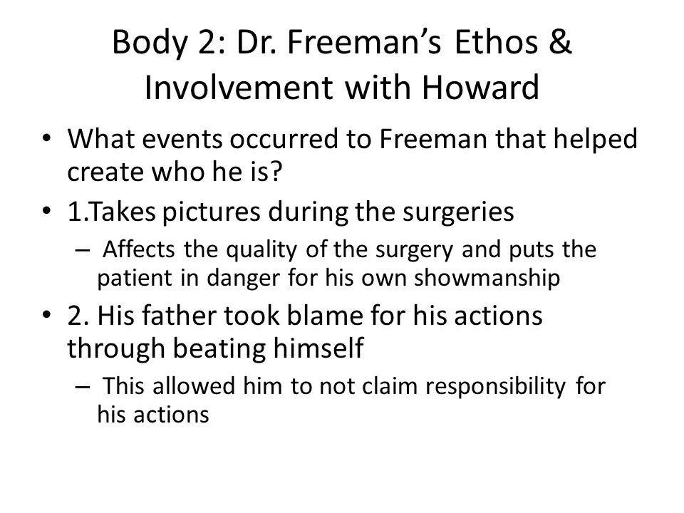 Body 2: Dr.
