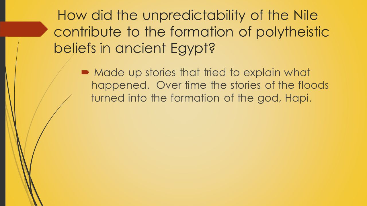 How did the Nile support early civilization in ancient Egypt.