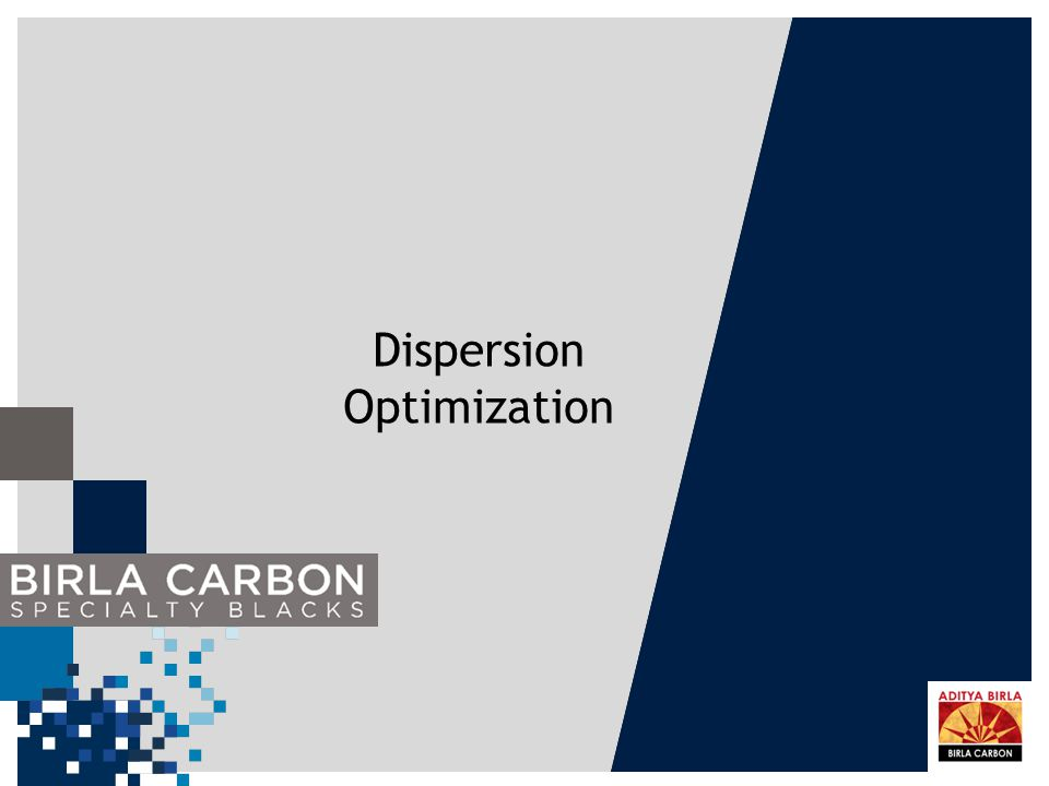Dispersion Optimization