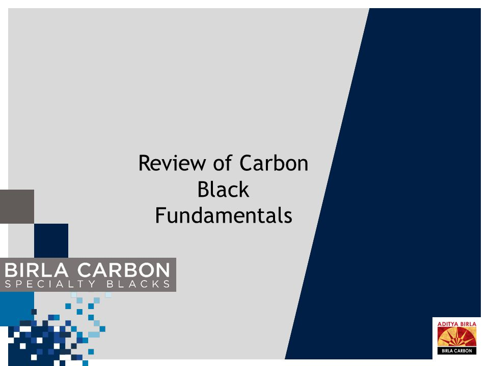 Review of Carbon Black Fundamentals