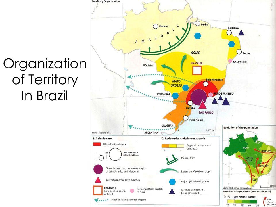 Organization of Territory In Brazil