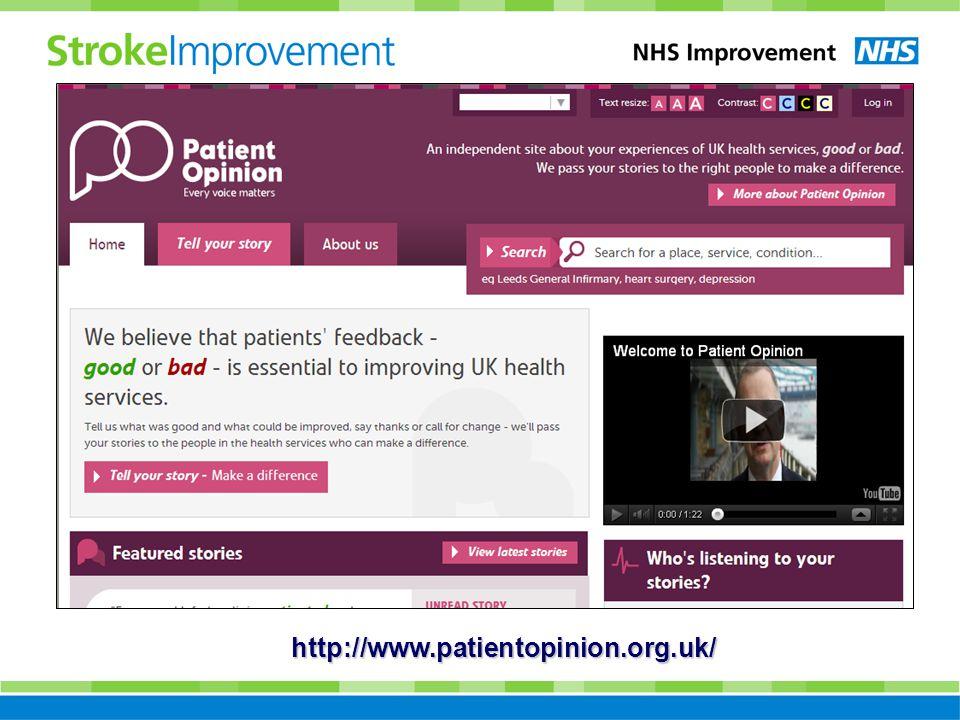 http://www.patientopinion.org.uk/